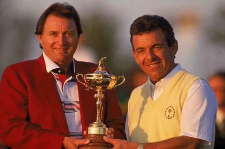 The stars come out to play for Tony Jacklin