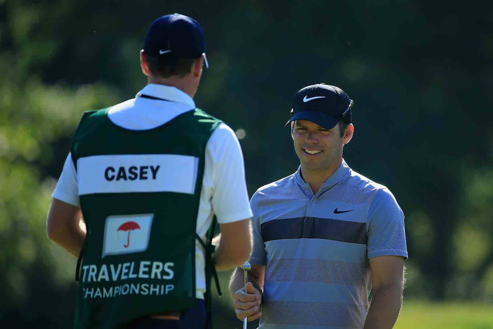 Paul Casey backs Russell Knox