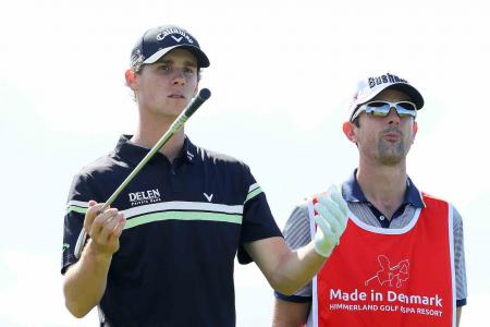 Thomas Pieters one behind at Made in Denmark