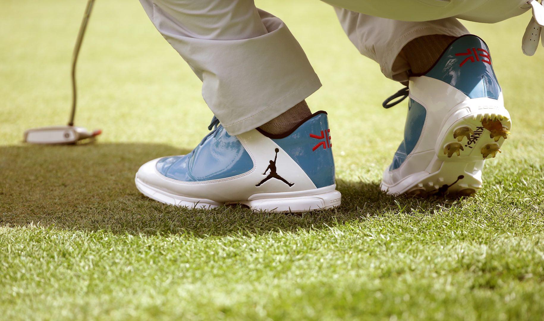 Keegan Bradley's New One Off Jordan Golf Shoes