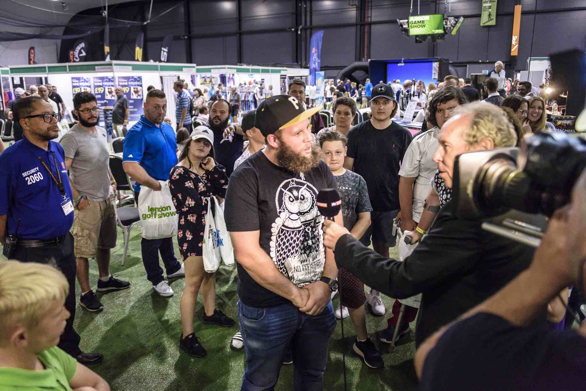 Beef is a massive hit at London Golf Show
