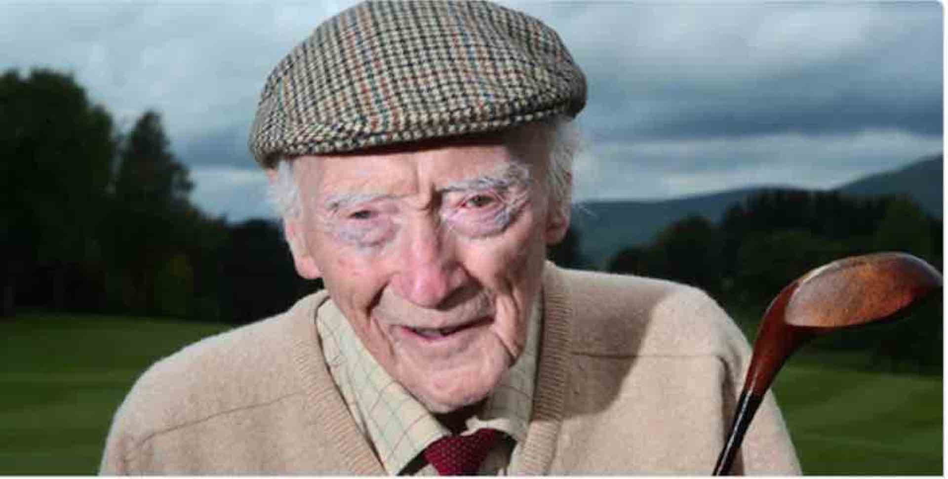 Hole in one for 91 year old golfer