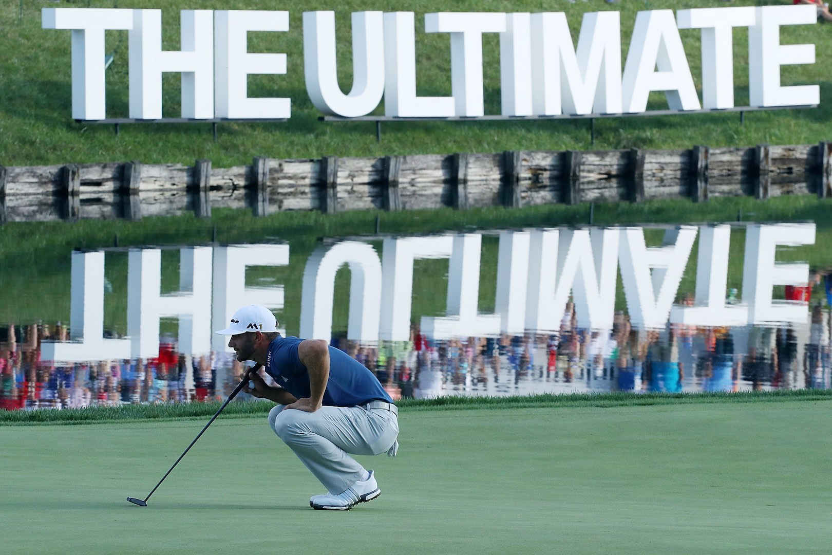 Dustin Johnson wins the BMW Championship