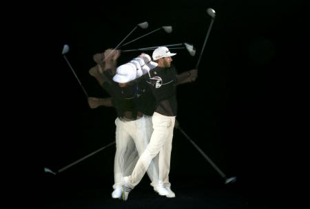 The key to golf swing weight transference