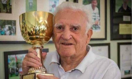 85–year old man wins competition