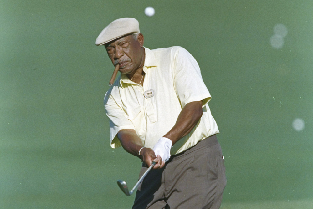 Representing for all the GolfPunks: Charlie Sifford