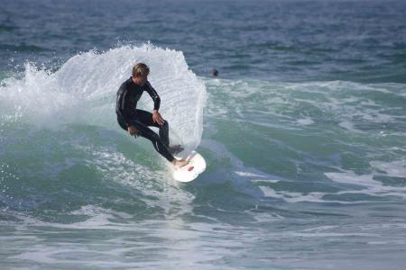 Surfs up at Quinta da Marinha