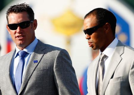 Lee Westwood stokes Tiger Woods' fire