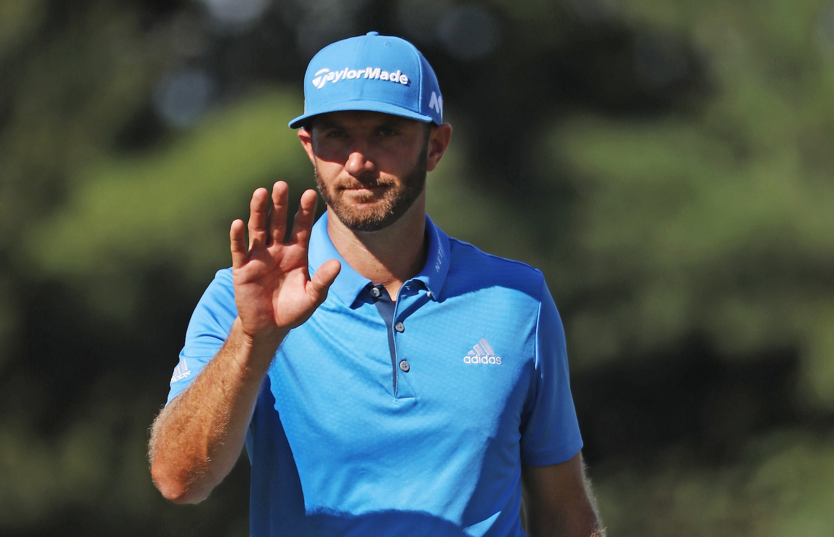 Dustin Leads Tour Championship
