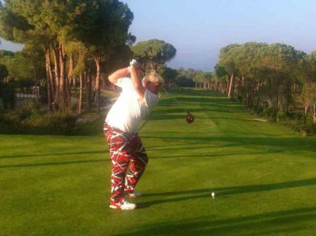 John Daly keeps his promise to 'grip it and rip it' at Gloria again