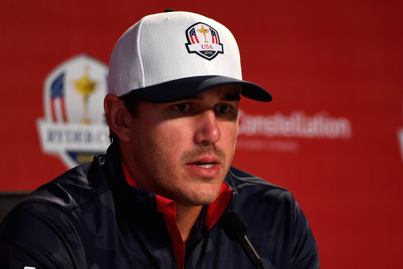 Record breaker Brooks Koepka