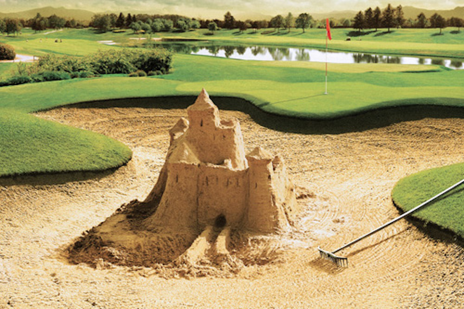 Sandcastles in your bunkers