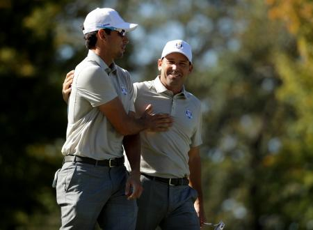 Ryder Cup 4-ball pairings