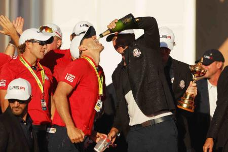 Ryder Cup Singles highlights