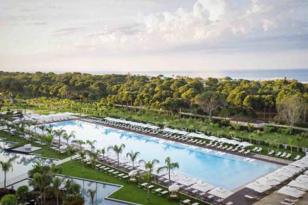 Get down to Regnum Carya in Antalya