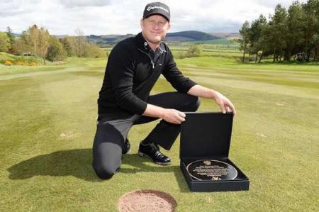Gleneagles change Jamie Donaldson shot marker