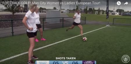 Carly Booth, Melissa Reid & Rosie Davis v Man City!