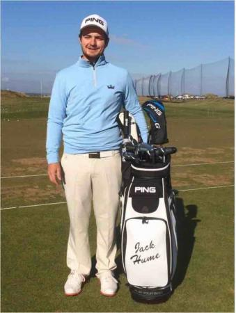 Ping sign Irish golfer Jack Hume