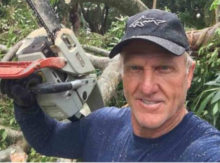 Greg Norman prepares for Hurricane Matthew