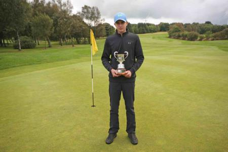 15–year old boy missed out on course record at South Moor GC