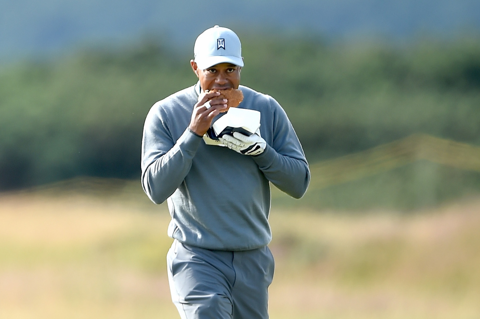 Is this the world's slowest golfer?