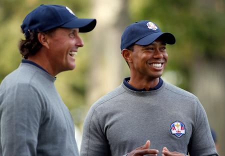Tiger Woods to play with Phil Mickelson at Safeway Classic