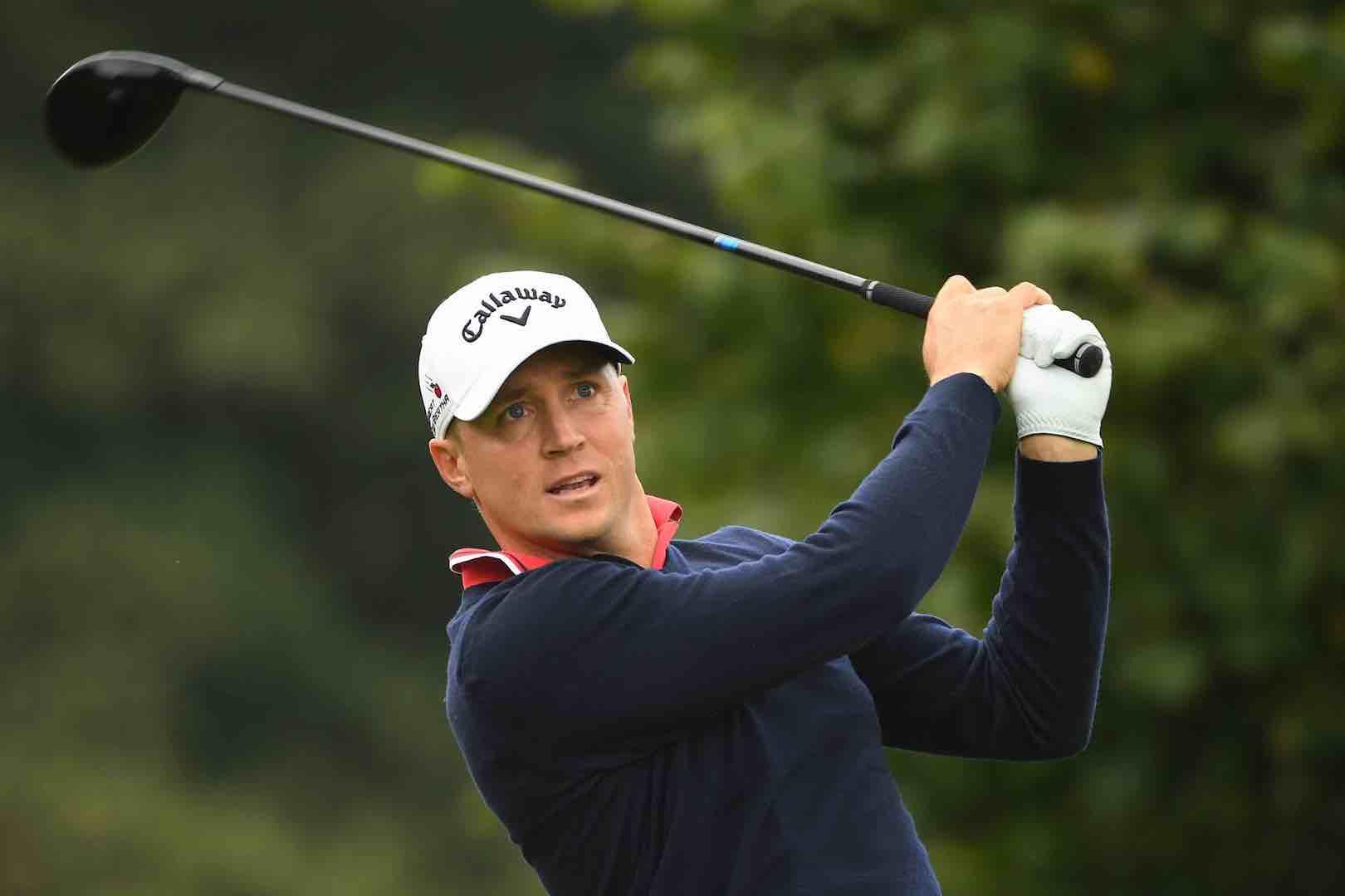 Alex Noren holds British Masters lead