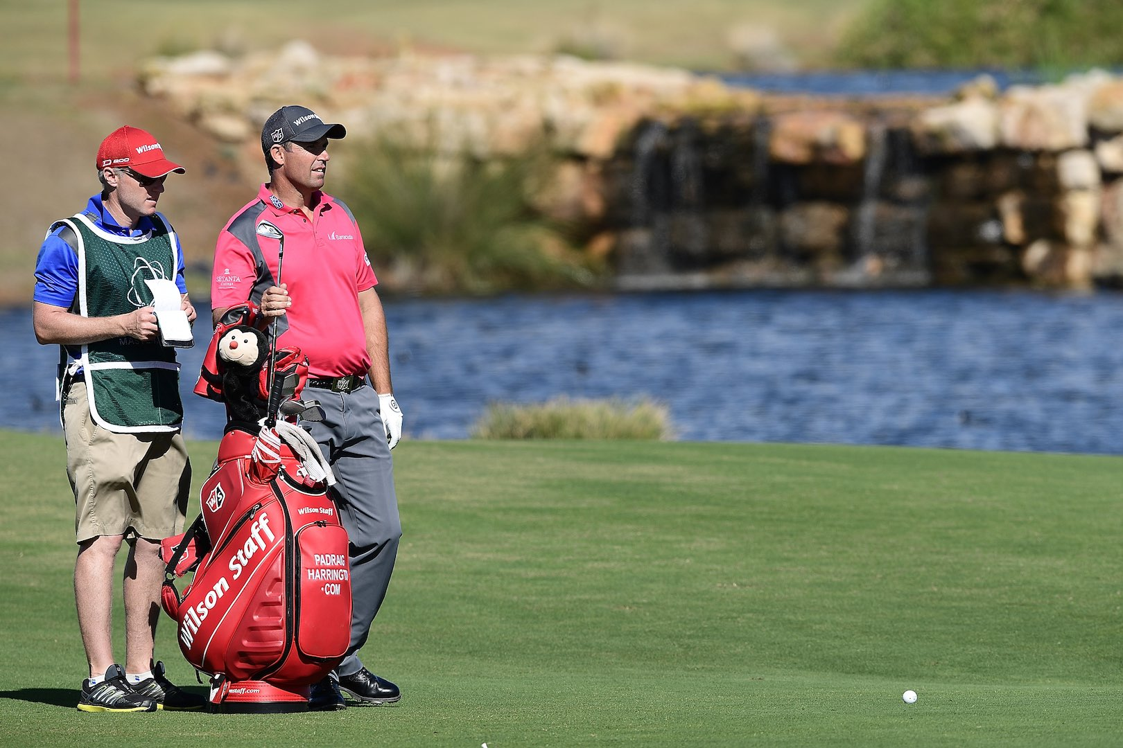 Padraig Harrington and Justin Thomas Winning What's In the Bag's?