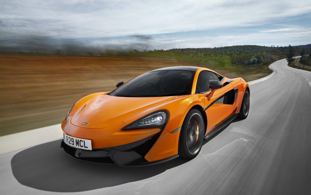 Danny Willett gets himself a McLaren
