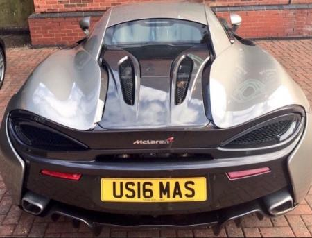 Danny Willett gets himself a McLaren