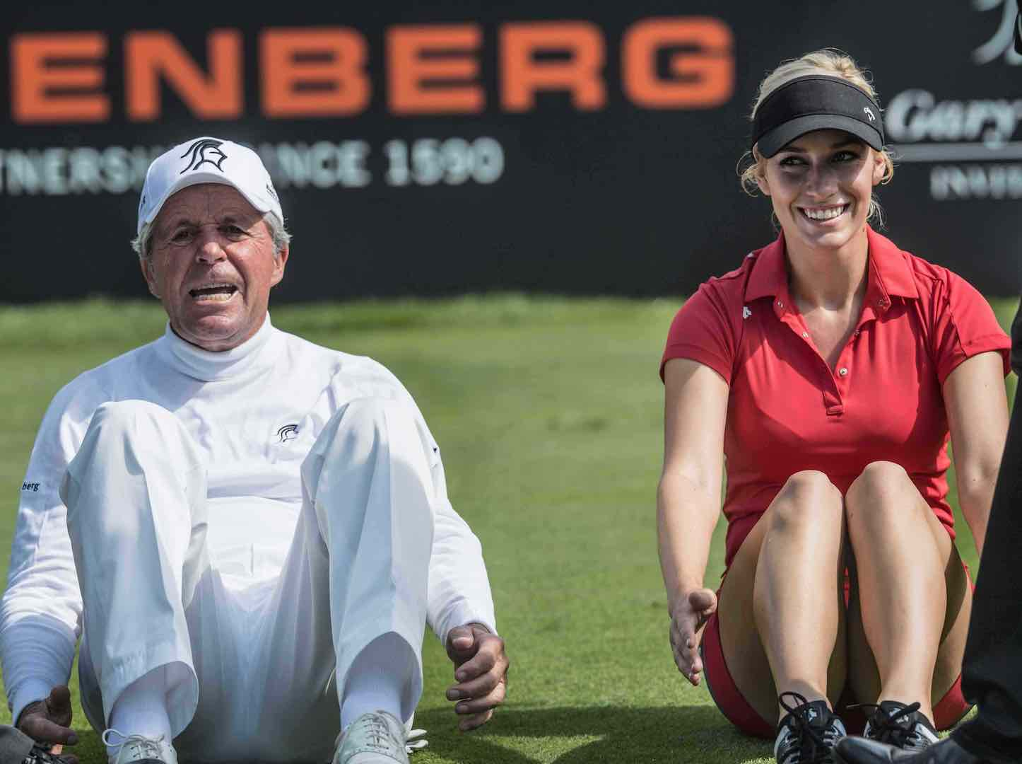 Gary Player's going to be 81 and this is what he wants you to do