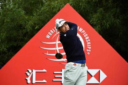 Hideki Matsuyama tops the leaderboard