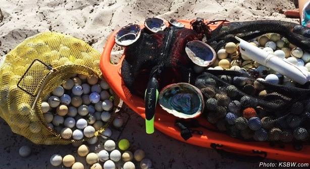 Students take on 'ocean destroying' Pebble Beach