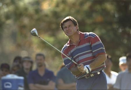 Sir Nick Faldo to tee it up