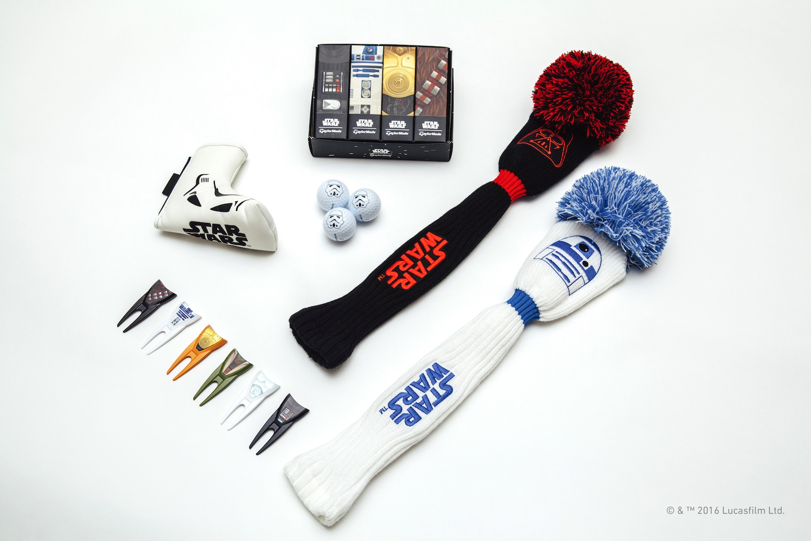 TaylorMade launch Star Wars golf gear