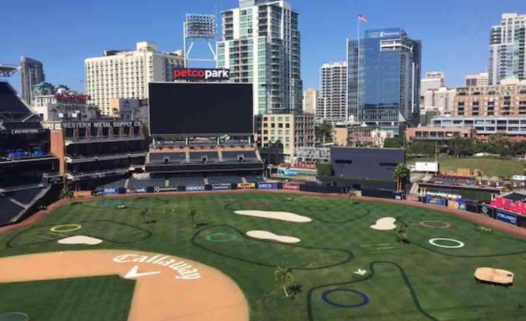 Callaway pimps San Diego Padres stadium