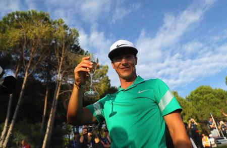 Thorbjorn Olesen rallies to win Turkish Airlines Open