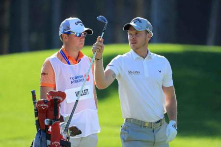 Danny Willett splits with his caddie