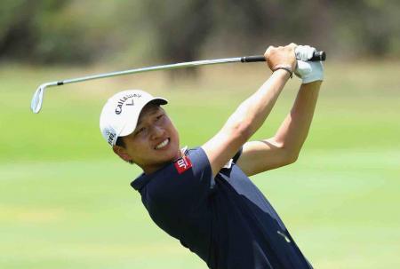 Jeunghun Wang leads the Nedbank Challenge