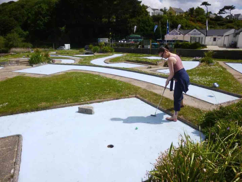 A Crazy Golfing quest