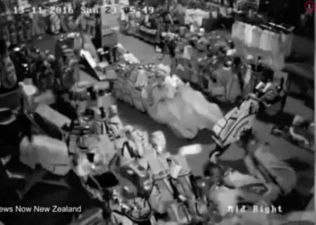 Earthquake aftershock hits New Zealand golf store