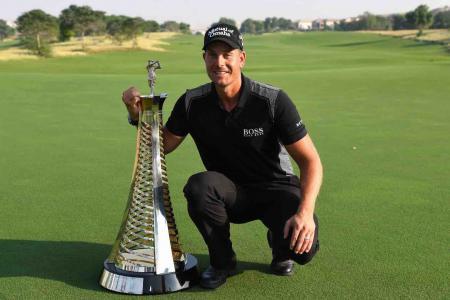 Stenson wins his second Race to Dubai