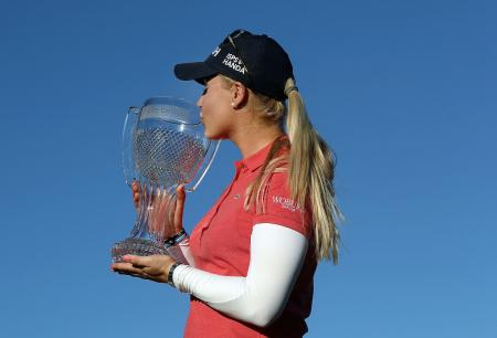 Charley Hull secures maiden LPGA victory
