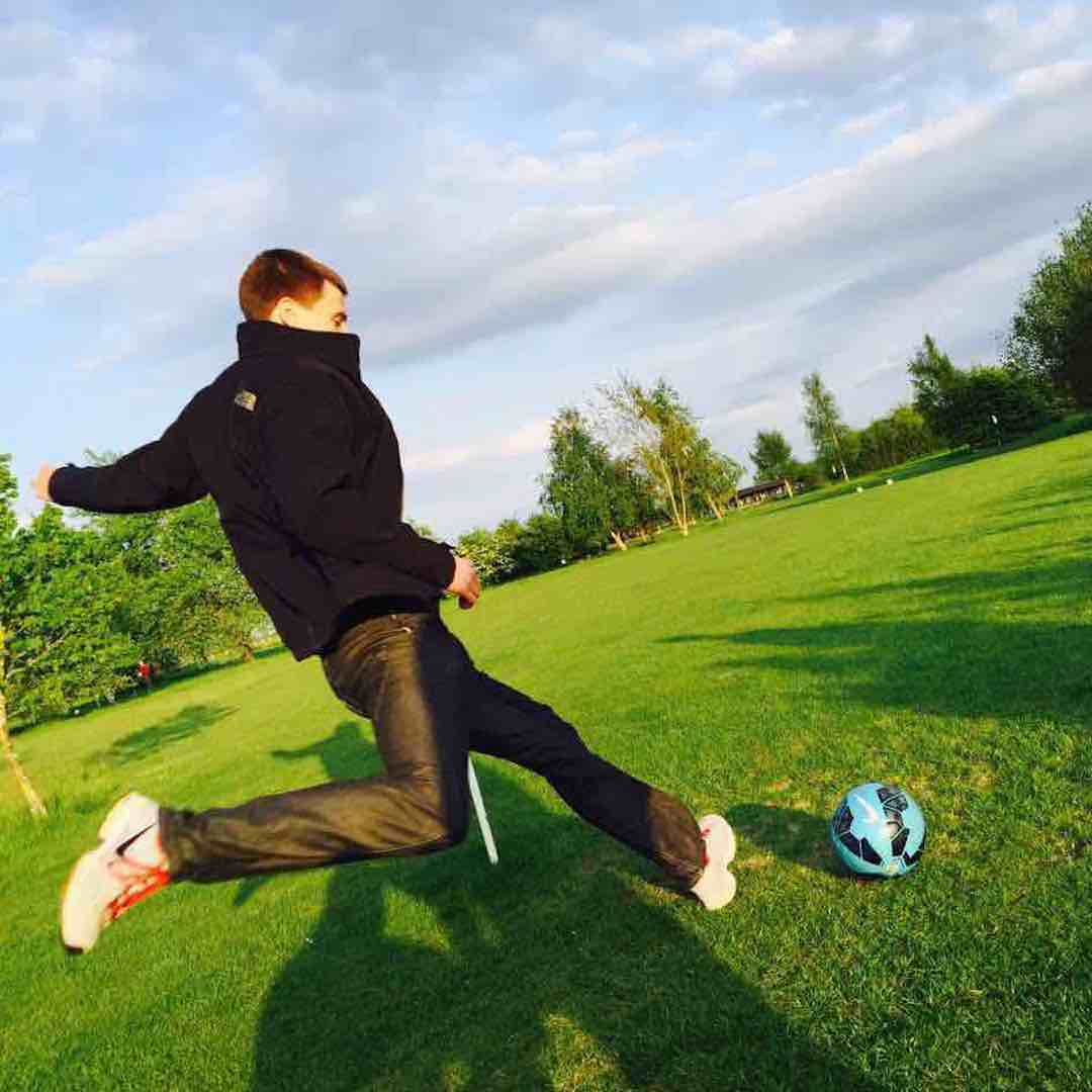 Footgolf on the up and up