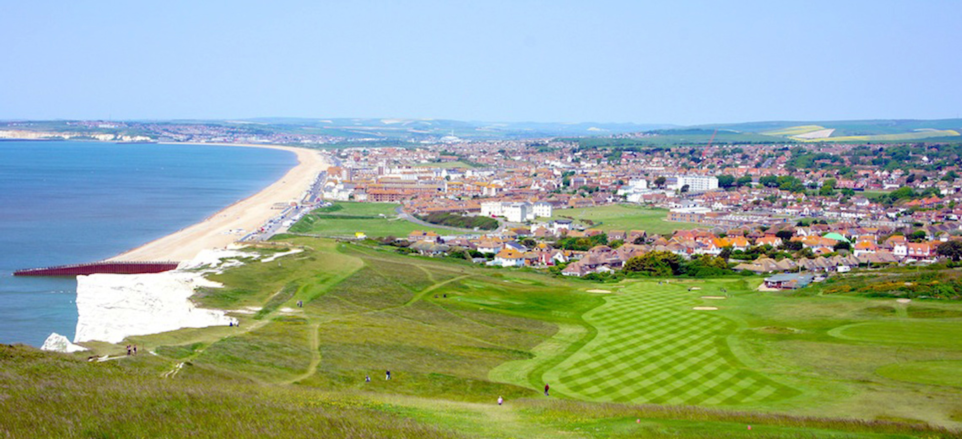 Threat to the sixth at Seaford Head GC