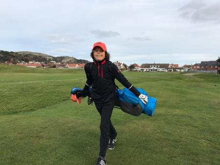 11–year old boy finishes dawn to dusk golf Challenge
