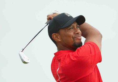 Back in red – Tiger's final round at the Hero