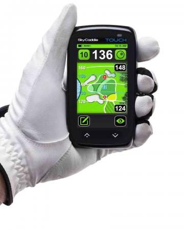 Trade in time with SkyCaddie's Touch