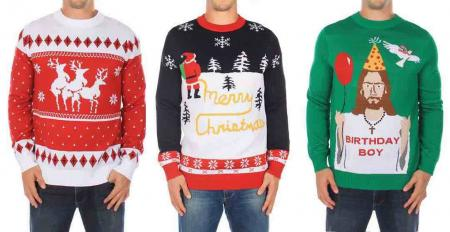 It's dodgy Christmas jumper day at a Suffolk golf club