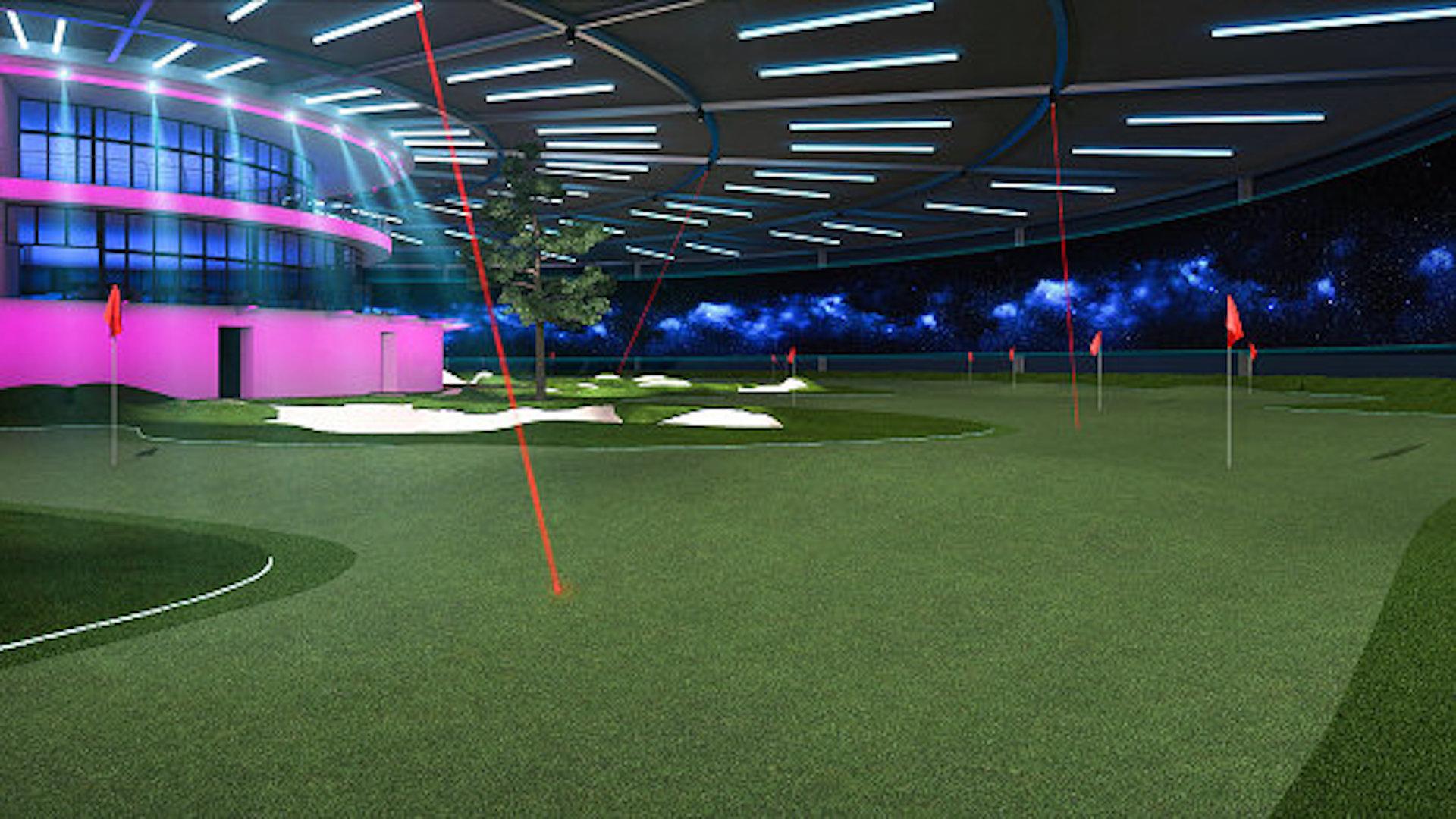 83c7289c6c REALiTEE Golf releases stunning night view - GolfPunkHQ